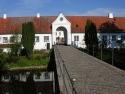 Schloss Glücksburg, Torhaus und Wirtschaftsgebäude