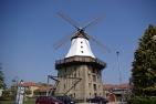 Kappeln, die Mühle ist das Wahrzeichen des Ortes