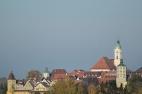 Günzburg, Altstadt von Westen