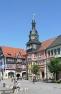 Eisenach, Markt, Ratsapotheke und Rathaus