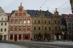 Erfurt, Haus zum breiten Herd und Gildehaus am Fischmarkt