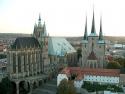 Erfurter Dom (links) und der Severikirche (rechts)