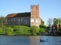 Koldinghus vom Schlosssee gesehen