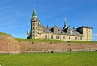 Kronborg castle in Elsinore