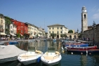 Lazise, view of the harbor