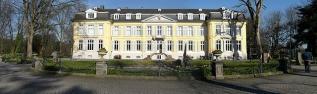 Panoramaaufnahme des Schloss Morsbroich in Leverkusen