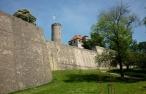 Sparrenburg, Festungsmauer mit Bergfried