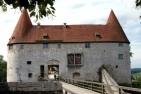 Burg zu Burghausen, Georgstor von Norden