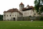 Burg zu Burghausen, Hauptburg von Norden