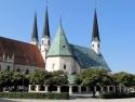 Altötting, Gnadenkapelle und Stiftspfarrkirche