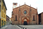 The cathedral of Mortara