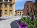 Mortara, Piazza Monsignor Dughera