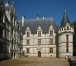 Château dʹAzay-le-Rideau, view from the court yard