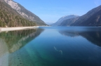 Achensee mod nord, set fra Pertisau/Lake Achen, view to the North from Pertisau