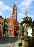Rathaus und Andreasbrunnen in Kamenz