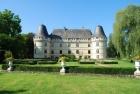 Façade sud du Château de LʹIslette