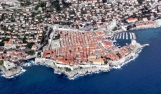 Dubrovnik from the aeroplane