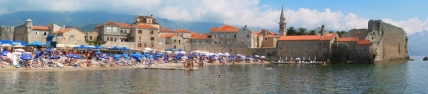 Panorama of Budva