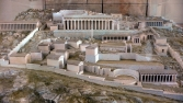 Model of the Sanctuary of Delphi in the Delphi Archaeological Museum