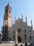 La facciata del Duomo di Monza