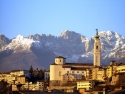 City of Belluno with Cathedral San Martino