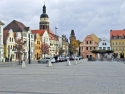 Altmarkt in Cottbus