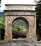 The Roman arch of Susa