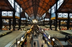 Great Market Hall in Budapest.