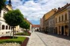 Franciscan Square in Varaždin
