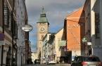 Enns, Wiener Straße und Stadtturm