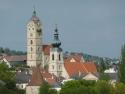 Pfarrkirche und Frauenbergkirche Stein
