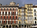 Facades in Pamplona