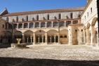 Claustro de San Fernando en el Monasterio de Santa María la Real de las Huelgas