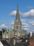 Façade ouest de lʹéglise Notre-Dame de Vitré