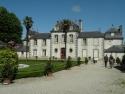 Cour d'honneur du château de Montmarin à Pleurtuit