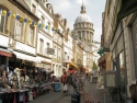Boulogne-sur-Mer, in the old town