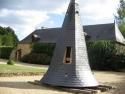 cour du Château de Hac