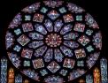 Cathédrale de Chartres - Transept Nord - Rose
