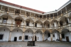 Brzeg, Castle Courtyard