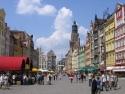 Market Square in Wrocław