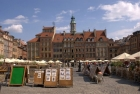 Warsaw, Market Square in the Old Town