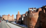 Warsaw, Defensive walls, Ulica Podwale