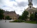 Kossuth square, Kecskemét