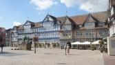 Wolfenbüttel, Stadtmarkt mit Rathaus