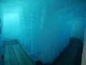 Inside the Rhône Glacier
