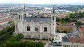 Basilique de Fourvière depuis la tour métallique