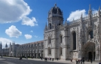 The Monastery of Jerónimos, Lisbon