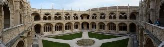 Mosteiro dos Jerónimos - Panorama dos claustros