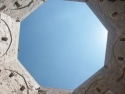 Courtyard of the Castel del Monte