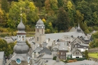 Monschau, Aukirche, seen from castle